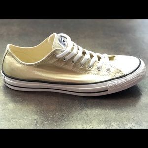 Converse All Star Low Top Gold